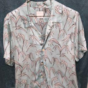 Sandro Paris Men's Viscose Shirt Size S